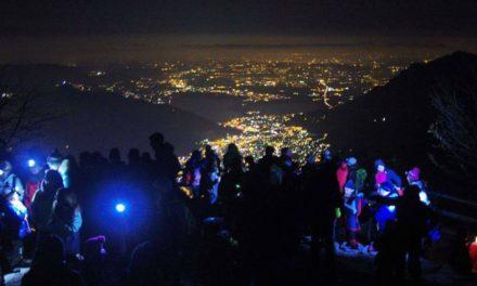 Trekking notturno ai piani Resinelli