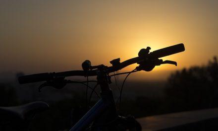Biciclettata serale sull'Adda
