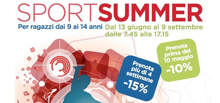 Sport Summer Camp alla piscina Pratogrande