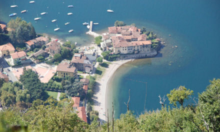Lierna: la spiaggia Riva Bianca