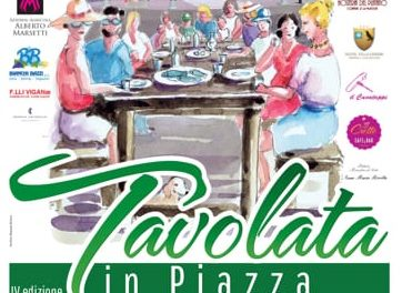 "Varenna: ""IV Tavolata in Piazza"""