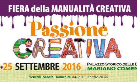 Passione Creativa: tre giorni di idee, arte e hobby per tutte l'età