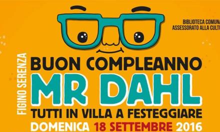 """""""Buon Compleanno Mr. Dahl"""": Figino Serenza festeggia lo scrittore"""