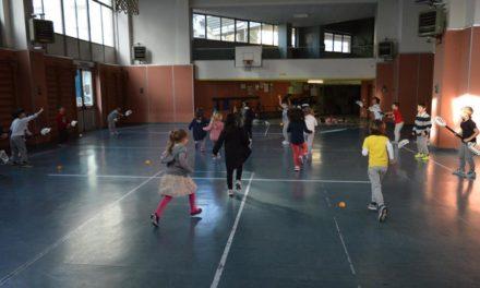 """Alla scuola primaria di Lecco-Belledo sbarca un nuovo e divertente sport grazie all'associazione """"Polisport"""""""