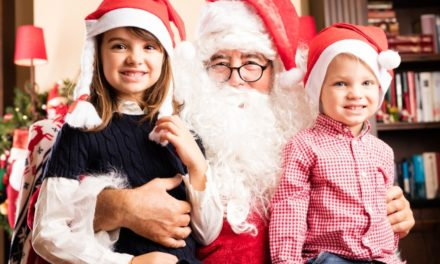 Lecco, che Magia: Babbo Natale arriva a bordo di una Lucia!