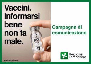 Calendario Vaccinazioni Lombardia.Wikivaccini Il Portale Della Regione Lombardia Per