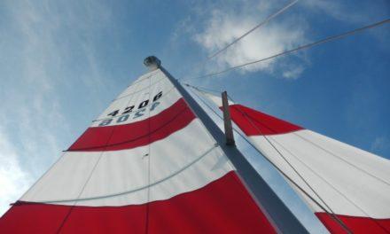 """""""Gioco a vela"""", un buon modo per far provare ai bambini l'ebrezza della barca a vela sui nostri laghi"""