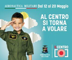 """L'Aeronautica Militare aspetta tutti i bambini presso """"Il Centro"""" di Arese"""